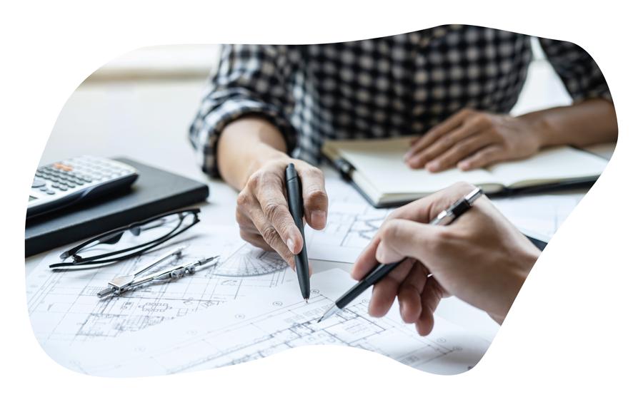 Bau-Planung